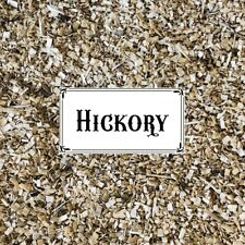 BBQ SMOKING WOOD - Hickory Wood Dust 1/2kg Bag - Real USA Hickory - FREE POST!