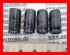 Rubycon électrolytique-Condensateur 22µf 400v 105 ° 12,5x25mm, ra.5mm 4 pièces