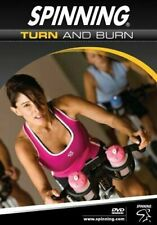 Spinning: Turn and Burn - Indoor Cycling (DVD, 2016) [Very Good Condition]