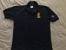 Iron Maiden Club Polo Shirt Rare Large Embroidered