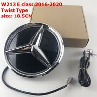Illuminated LED Light Front Grille Star Emblem Badge For Benz E Class W213 16-20