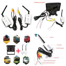 2.4GHz Wireless AV Cable Transmitter&Receiver For Bus Car Rearview Backup Camera