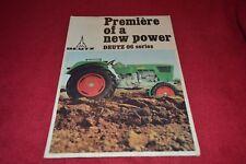 Deutz D 25 06 D 30 06 D 40 06 D 50 06 D 60 06 Tractor Dealer's Brochure YABE15