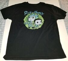 Rick and Morty One Funko POP! Tee unisex t-shirt large preowned