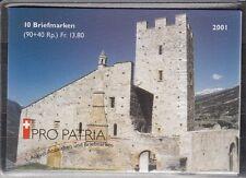 SCHWEIZ, 2001 Pro Patria Markenheftchen 0-121 **, (17796)