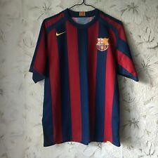 FC Barcelona Spain Home football shirt 2005 - 2006 Nike Soccer Jersey