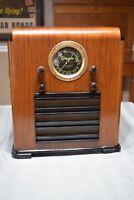1938 Grunow No. 6-N Tombstone  Antique Radio Working Shortwave Superheterodyne