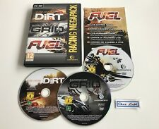 Pack 3 Jeux Colin McRae Dirt + Racedriver Grid + Fuel - PC - FR - Sans Notice