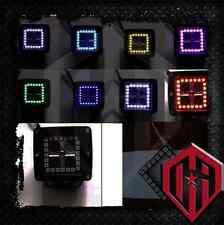 "3x3"" Dually Pod Cube LED Light Color Change RGB Halo Rings"