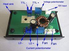 445nm 450nm 1W/2W/3.8W blue laser module power supplier driver 12V/TTL/heat sink