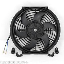 "10"" Inch Fan Universal Electric 12v Slim Fan For Intercooler Radiator Oil Cooler"