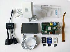 "Raspberry Pi 1 Model B Kit, 3.5"" RPi LCD-Display, Einplatinencomputer, FlashAir"