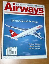 Airways 1999 June Business Express,Swissair,DHC-2