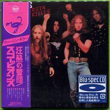 SCORPIONS - VIRGIN KILLER ( MINI LP AUDIO CD with OBI ) BLU-SPEC