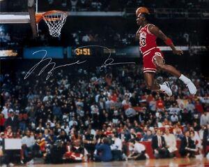 Reprint Michael Jordan Autographed Chicago Bulls 8X10 PHOTO Man Cave DECOR BAR