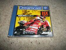 DUCATI WORLD-Sega Dreamcast-Nuevo Y Sellado-italiano/Versión Española