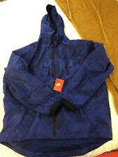 a6b0572696e6 Nike Tech Windrunner Woven Jacket Blue Camo 678635 455 Men s SZ XXL NWT