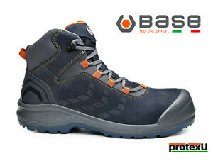 BASE Safety Boots BE-DYNAMIC TOP Metal-Free Safety Toecap & Mid-Sole S3 CI SRC