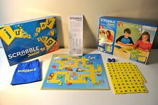 Scrabble Junior Jnr Crossword Board Game Edition 2 Games in 1 by Mattel 2012