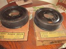 NOS CHEVROLET TRUCK 1960,1961,1962,1963 SERIES 20,30 FRONT BRAKE DRUMS PAIR