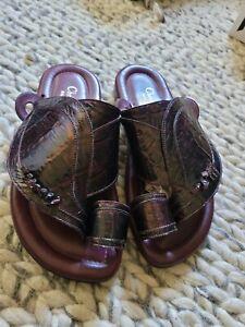 Christian Dior Crocodile Embossed Sandals size 43 US 11