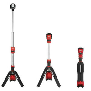 MILWAUKEE M12SAL-0 M12 12V TRUEVIEW TELESCOPIC LED TRIPOD LIGHT BRAND NEW