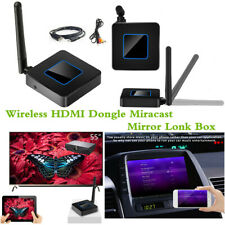 Car WiFi Display Mirror Link Box Kit Wireless HDMI Dongle Miracast Airplay DLNA