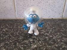 Smurfs Astro Smurf Astronaut vintage Portugal Rare
