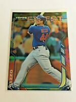 2014 Topps Finest Baseball Base Card - Anthony Rizzo - Chicago Cubs