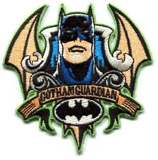 BATMAN gotham guardian EMBROIDERED IRON-ON PATCH -dc comics **FREE SHIP** pdc14