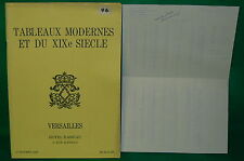 catalogue vente enchères VERSAILLES Tableaux modernes + liste prix de vente (4)