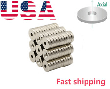 Disc12mm Countersunk Disc Small Magnets For Refrigerator Science Craft Project