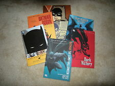 A BATMAN 6-Graphic Novel Collection (R.I.P., Dark Victory, 4 more)...NEW
