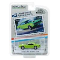 "Greenlight Hobby Exclusive: 1970 Plymouth HEMI Cuda ""USPS Forever"" 1/64 Scale"