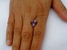 Amethyst Heart Loose Natural Gem 10mm