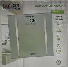 Taylor 5721FW  Digital Glass Scale Up To 400lbs