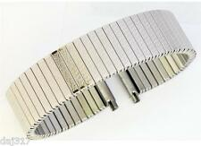17mm - 22mm Acciaio Inox FIXO FLEX STILE Allargabile Cinturino Orologio - B9001