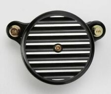 Joker Machine Black Fined Air Cleaner Cover 99-17 Harley Touring Dyna Softail