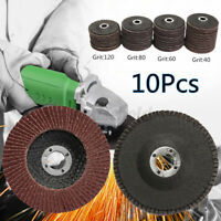 10 Stk. Fächerscheibe 100mm / 125mm Korn 40-120 Schleifscheiben  PRO !❤! ✤