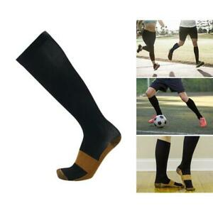 1 Pair Compression Socks 20-30 mmHg Sports Leg Support Pain Relief For Men Women