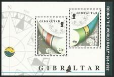 Gibraltar aus 1992 ** postfrisch Block 17 MiNr.645 - Segelregatta!