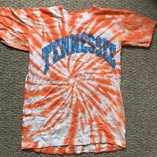 Vintage University Of Tennessee 1990s Tie Dye T Shirt Football Size L NOS