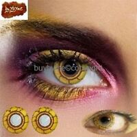 S VIRUS 80058 farbige Kontaktlinsen Linse halloween braun gelb kostum linsen