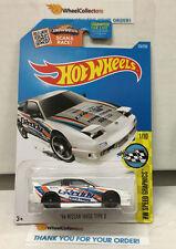 '96 Nissan 180SX Type X #176 * WHITE * 2016 Hot Wheels * N145