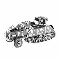 Metal Model Kit 3D Puzzle - WW2 German Half Track Rocket Launcher