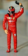 Ferrari Sf90 C. Leclerc win italian monza gp pilot Mini DRIVER FIGURE 1:18 RESIN