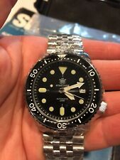 Steeldive Diver watch SKX 200m ceramic sapphire 316L Stainless Seiko NH35 Auto