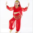 KID's Belly Dance Costume 5pcs set Dancewear Sequins Shining Party Halloween 08
