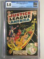 Justice League of America 3 - CGC 5.0 -1st App Hyathis, Kanjar Ro, Sayyar, Kromm