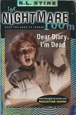 Nightmare Room #5: Dear Diary, I'm Dead by R. L. Stine (2001, Paperback)